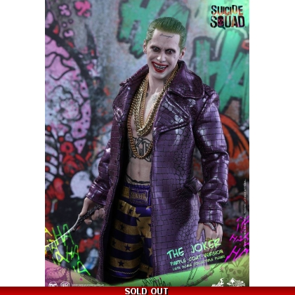 Suicide Squad - 1/6th scale The Joker Purple Coat Version Collectible Figure