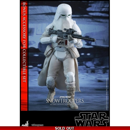 Hot Toys Star Wars Battlefront - 1/6th scale Snowtroopers Collectible Figures Set