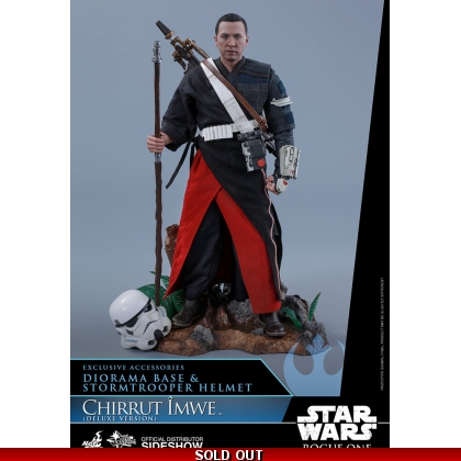 Hot Toys Rogue One: A Star Wars Story 1/6th scale Chirrut Îmwe Collectible Figure Deluxe Version
