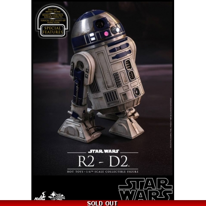 Hot Toys Star Wars: The Force Awakens 1/6th scale R2-D2 Collectible Figure