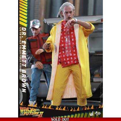Back to The Future Part II 1/6th scale Dr. Emmett Brown Collectible Figure