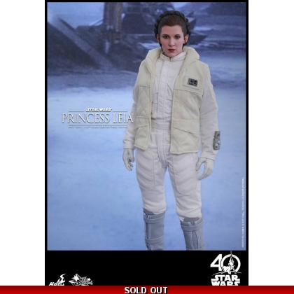 Hot Toys Star Wars: The Empire Strikes Back 1/6th scale Princess Leia Collectible Figure