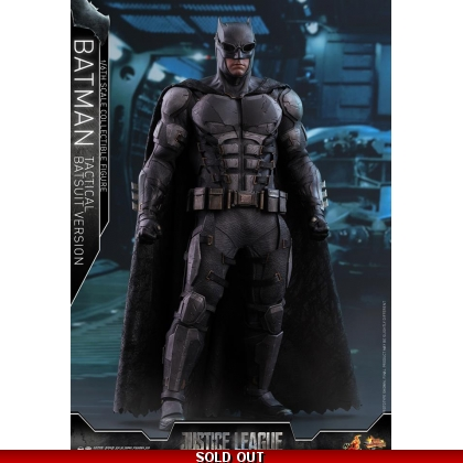 Hot Toys  Justice League 1/6th scale Batman Tactical Batsuit Version Collectible Figure
