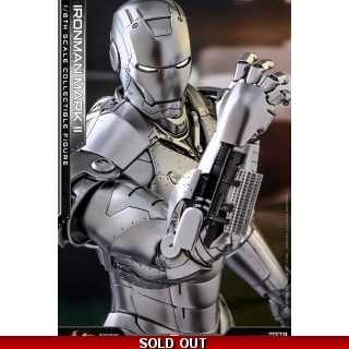 Hot Toys Iron Man 1/6th scale Mark II ..
