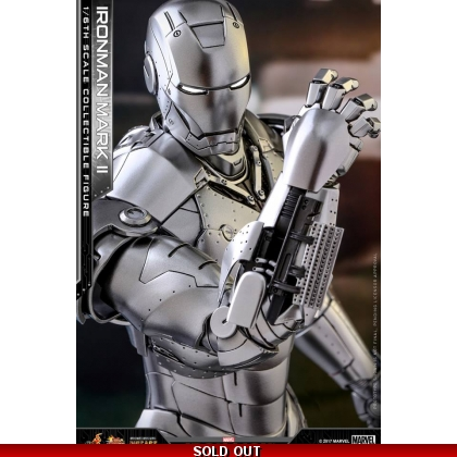 Hot Toys Iron Man 1/6th scale Mark II Collectible Figure