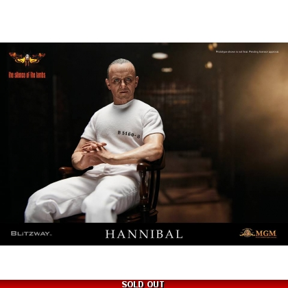 BLITZWAY - Hannibal Lecter White Prison Uniform ver. Sixth Scale Collectible Figure