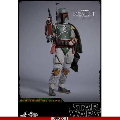 Hot Toys Star Wars: Episode V The Empire Strikes Back 1/6th scale Boba Fett Deluxe Version Collectible Figure
