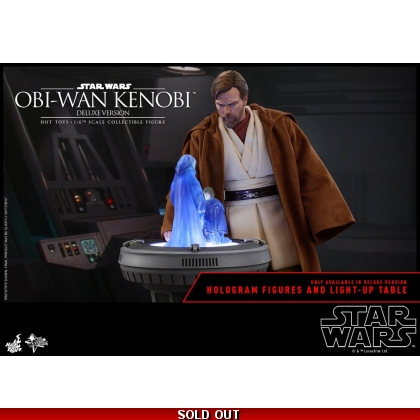 Hot Toys Star Wars: Episode III Revenge of the Sith 1/6th scale Obi-Wan Kenobi Deluxe Version Collectible Figure