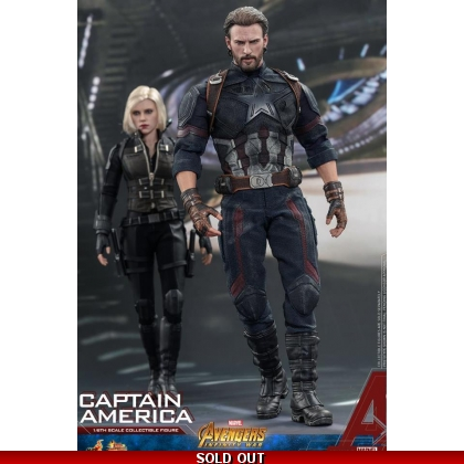 Hot Toys Avengers: Infinity War 1/6th scale Captain America Collectible Figure