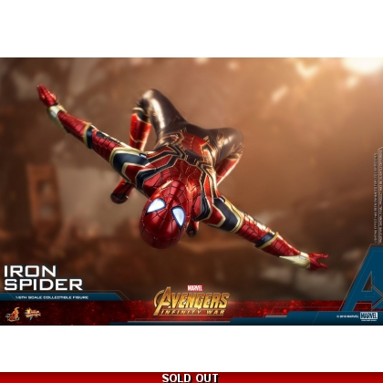 Hot Toys Avengers: Infinity War 1/6th scale Iron Spider Collectible Figure