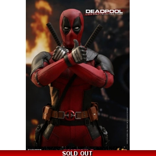 Hot Toys Deadpool 2 1/6th scale Deadpo..