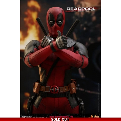 Hot Toys Deadpool 2 1/6th scale Deadpool Collectible Figure