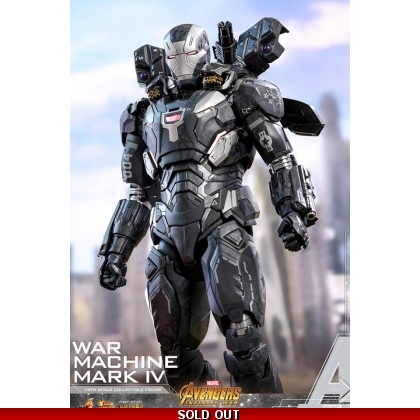 Hot Toys Avengers: Infinity War 1/6th scale War Machine Mark IV Collectible Figure