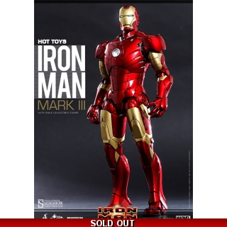 1/6 Hot toys Iron Man MK3 Mark III Die..