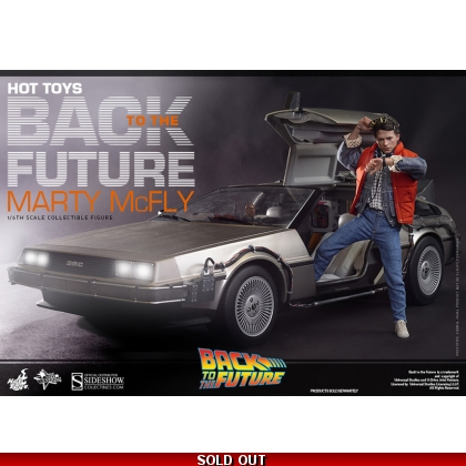 Hot Toys Back To The Future Marty Mcfly