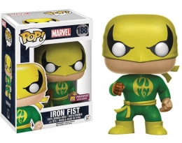 Funko Pop Marvel Iron Fist PX Previews Exclusive 188 Bobble Head