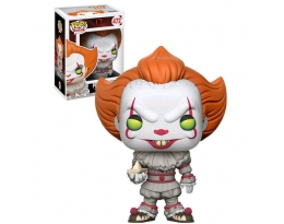 Funko POP! Movies Pennywise with Boat Vinyl Figure 472 [Regular Version]