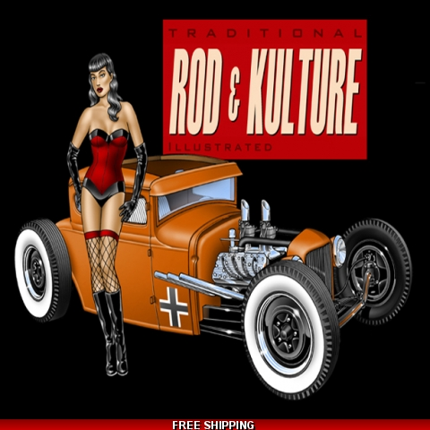 Mechanic Shirt - Traditional Rod & Kulture Coupe