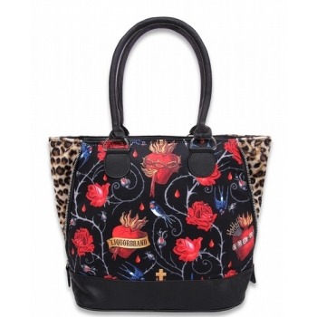 Sacred Heart Shoulder Bag