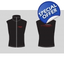 2014 MENS BLACK Soft Shell Gilet