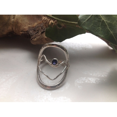 Sterling Silver Gemston..