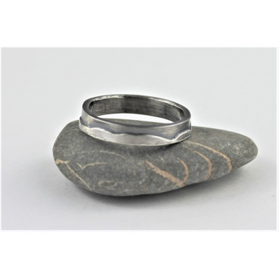 Sterling Silver Slim Band Ri..