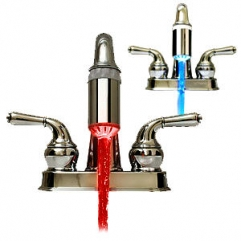 Temperature sensing, Automatic Colour Changing Tap Water Gadget.