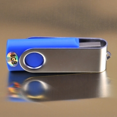HIGH SPEED 8GB KEYRING 2.0 FLASH DRIVE MEMORY STICK