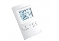 Digital Thermometer Indoor/Outdoor 2 w..