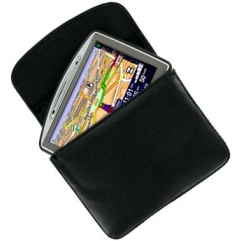 SAT NAV LEATHER CASE - TOM TOM, GARMIN, NAVMAN.