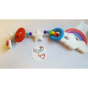 Rainbow clips with..