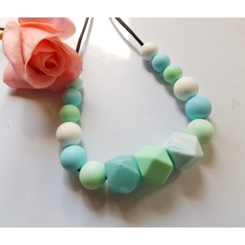 Mints Nursing Teething Breastfeeding Necklace silicone