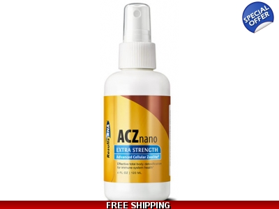 ACZ Nano Zeolite Extra Strength - 4OZ Results RNA