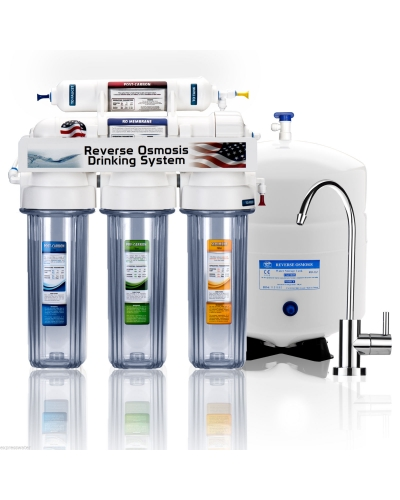 MRET Water activator Package with 5 Stage Reverse Osmosis Filter