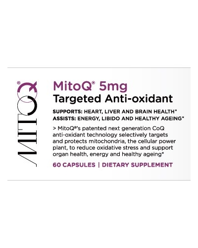 Mito-Q by Mito-Q Limited 5mg, 60 capsules COQ10