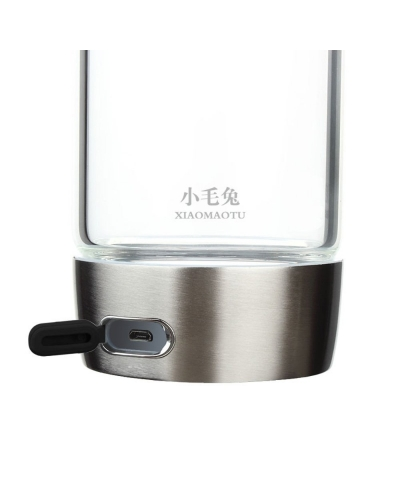 Portable Hydrogen Rich Water Maker and Ionizer 550 ML