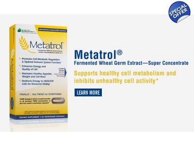 Metatrol By American Biosciences - Fermented Wheat Germ
