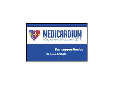 Medicardium Suppository Heavy Metal Detox