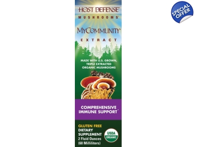 Host Defense MyCommunity Extract 17-Species Multi Mushroom Complex