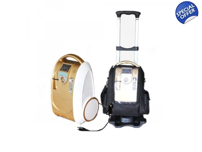 5 LPM Portable Oxygen Concentrator Oxygen Generator with Battery