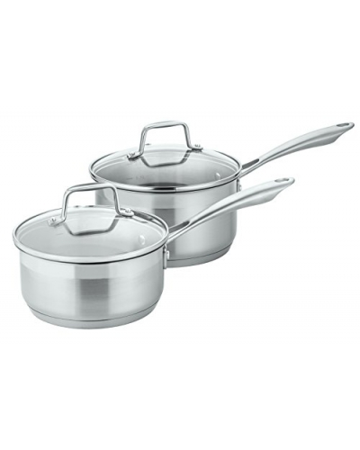 Professional Grade Stainless Steel 17 Piece Pots & Pans Set