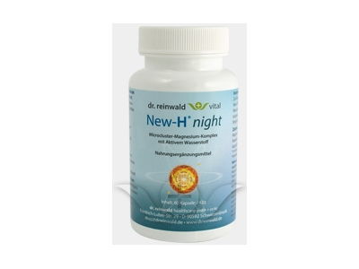 New-H Night Dr Reinwald Natural Rhythm - Calming Magnesium - 60caps