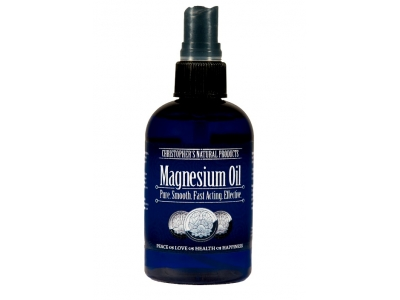Magnesium Chloride Hexahydrate  Oil 100 Percent 4 oz