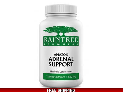 Raintree Adrenal Support 120 Veg Caps