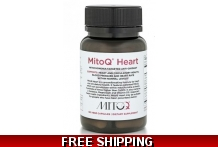 Mito-Q Heart Mito-Q - Only 2 per customer - 5mg, 60 capsules COQ10