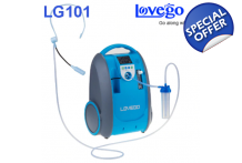 5 LPM Portable Oxygen Generator - Continuous Flow Concentrator LoveGO