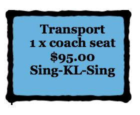 KL. TRANSPORT - Coach Singapore Return