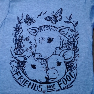 ORIGINAL Friends Not Food