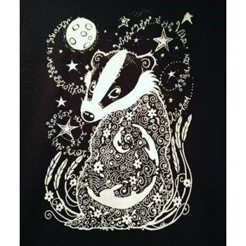 Stary night badger