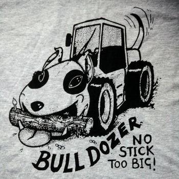 BULLDOZER fun tee